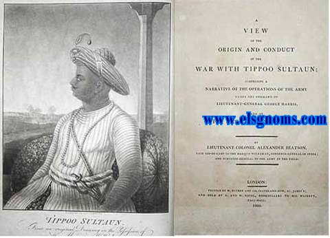A view of the origin and conduct of the war with Tipoo Sultaun;compresing a narrative of the operations of The Army under the command of Lieutenant-General George Harris,and of the Siege of Seringapatam.by ...late aid-de-camp to the Marquis Wellesley,Governor-General of India;and surveyer-general to The Army in the field.